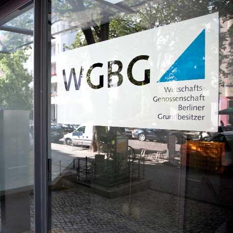 Bild Eingangsbereich WGBG Hausverwaltung Berlin